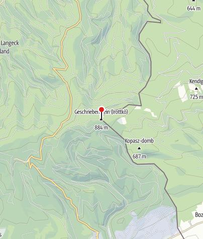 Mapa / Írott-kő (OKTPH_01_DDKPH_01)
