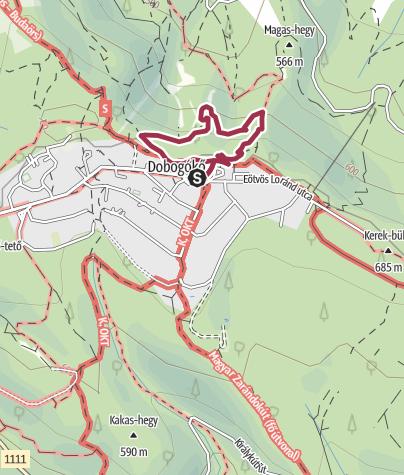 Karte / Thirring-körút