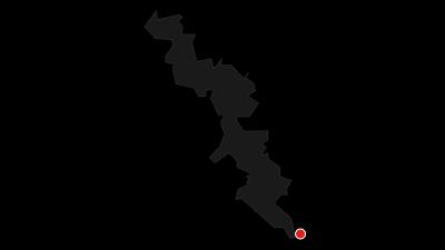 Karte / Rheinradweg/Romantischer Rhein linksrheinisch