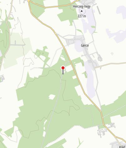 Map / Rózsáskerti erdészház (OKTPH_11)