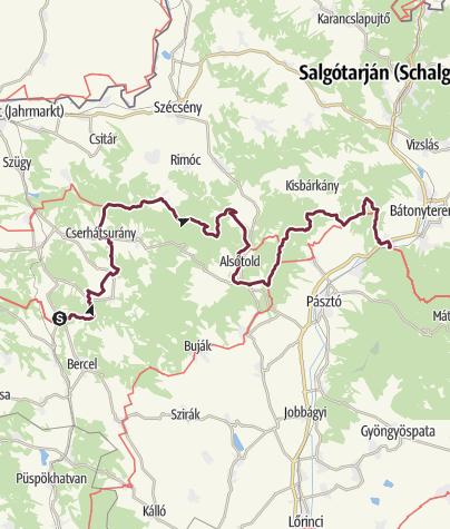 Map / Becske - Mátraverebély (OKT-19.)
