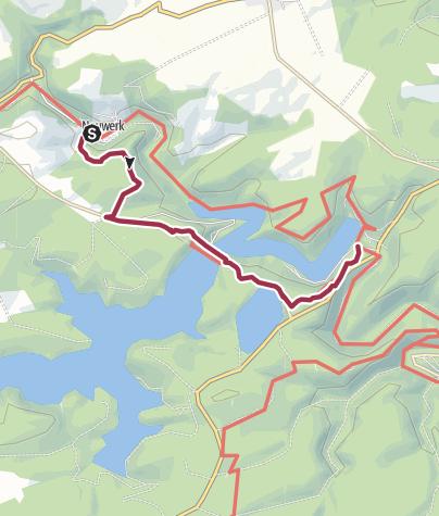 """Karte / Harzer-Hexen-Stieg-Variante über """"Titan RT"""" - die längste Hängebrücke Ihrer Art"""