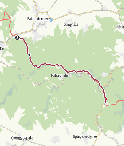 Mapa / Mátraverebély - Mátraháza (OKT-20.)