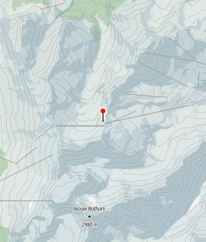 Kaart / Hörnli-Hütte