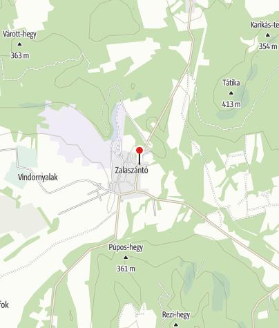 Mapa / Zalaszántó (OKTPH_20_2)