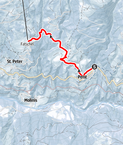 Map / Peist – Sotfanas – Fatschél