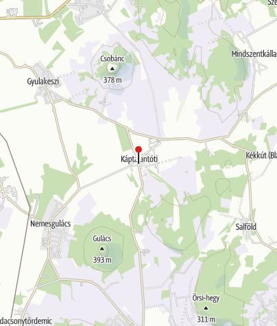 Map / Káptalantóti (OKTPH_31)