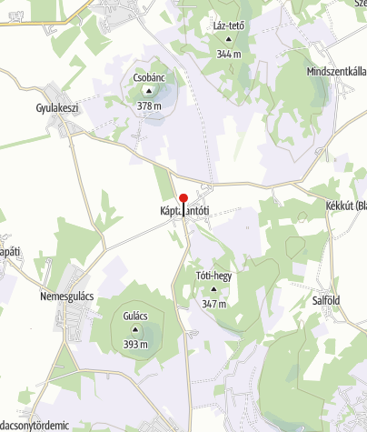 Karte / Káptalantóti (OKTPH_31)