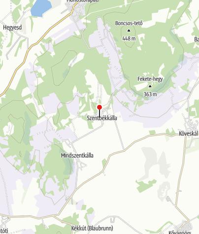 Mapa / Szentbékkálla (OKTPH_32)