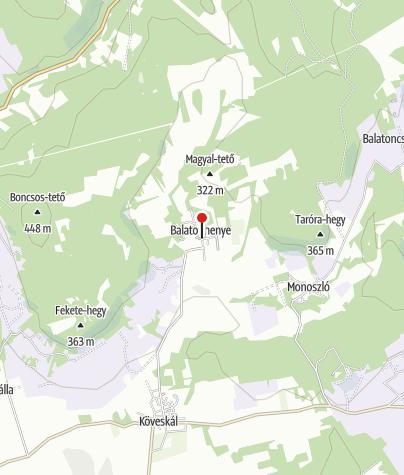 Térkép / Balatonhenye (OKTPH_33)