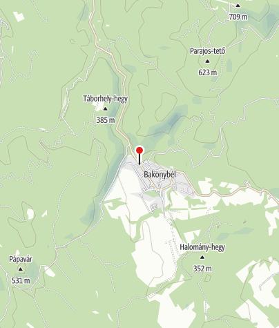Karte / Bakonybél (OKTPH_40_1)