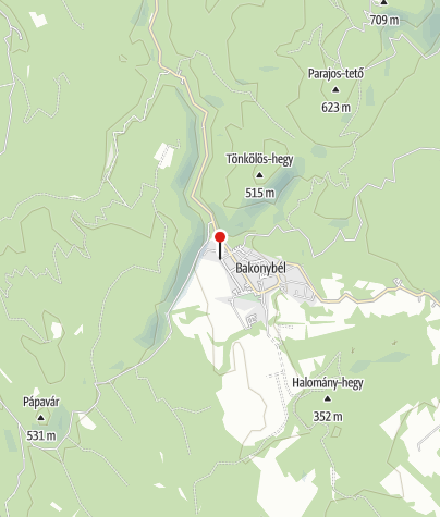 Mapa / Bakonybél (OKTPH_40_2)