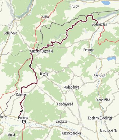 Map / Putnok - Bódvaszilas (OKT-24.)