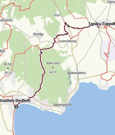 Map / Keszthely - Tapolca (OKT - 04.)