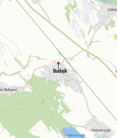 Térkép / Bodajk (OKTPH_50_A_1)