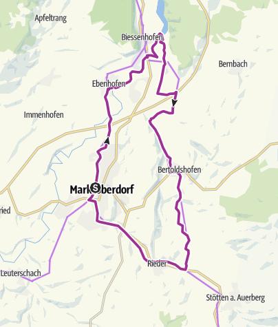 Karte / Im Geltnachtal