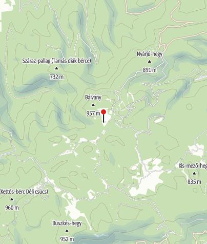 Map / Kerékpár Pont (Csurgói erdészház)