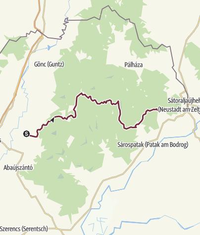 Map / Boldogkőváralja - Nagy-nyugodó (OKT-26.)