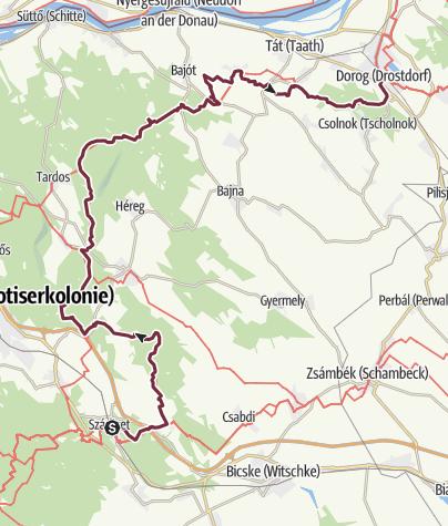 Map / Szárliget - Dorog (OKT-11)
