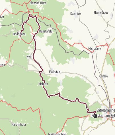 Map / Nagy-nyugodó - Hollóháza (OKT-27.)