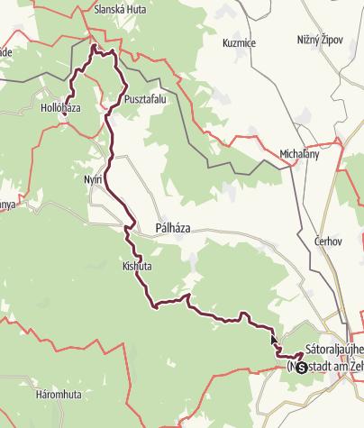 Térkép / Nagy-nyugodó - Hollóháza (OKT-27.)