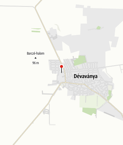 Mapa / Dévaványa (AKPH_29)