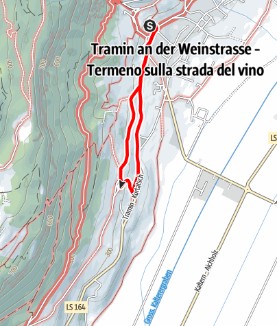 Map / Promenade to Rungg and S. Valentin