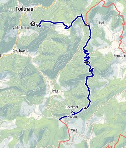 Map / Tower Climbs (Turmsteige)