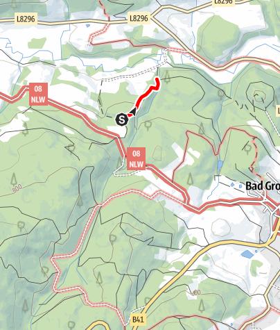 Mapa / Anbindung Papiermühlenweg