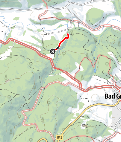 Karte / Anbindung Papiermühlenweg