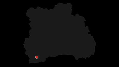 Hartă / Fundatura Ponorului x-country MTB