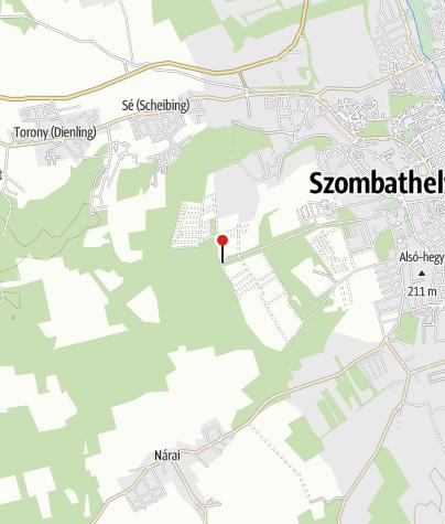 Mapa / Szombathely-Olad (DDKPH_03)