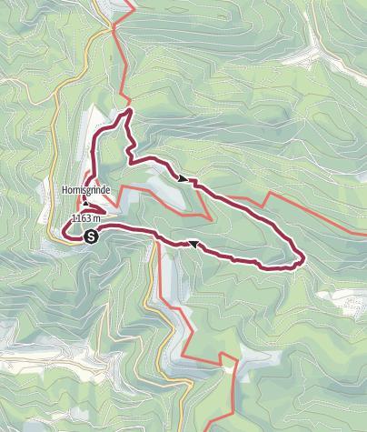 Karte / Mummelsee – Ochsenstall