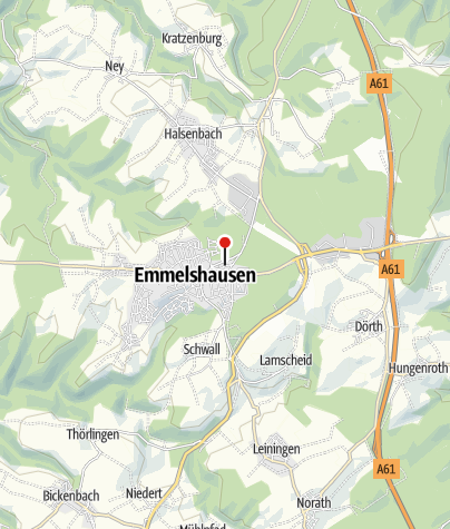 Karte / Hunsrückbahn-Museum