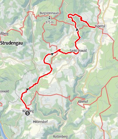 Map / Ysper-Weitental Rundwanderweg Etappe 2
