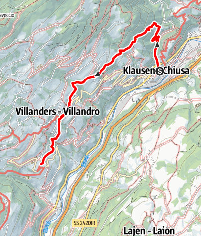 Map / Chestnut Trail: CHiusa-Villandro-S. Maurizio