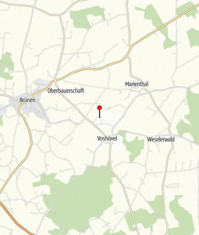 Karte / Golfanlage Weselerwald