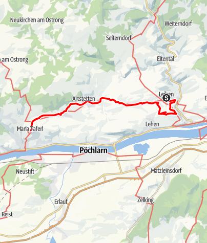 Map / Ysper-Weitental Rundwanderweg Etappe 8
