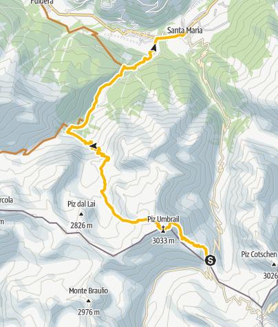 Map / Piz Umbrail
