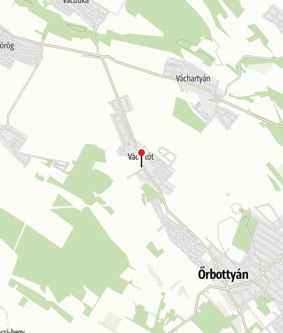 Térkép / Nemzeti Botanikus Kert (Vácrátót)