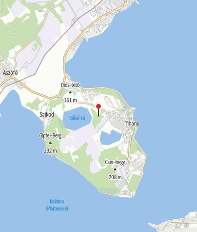Térkép / Szélmarta-sziklák