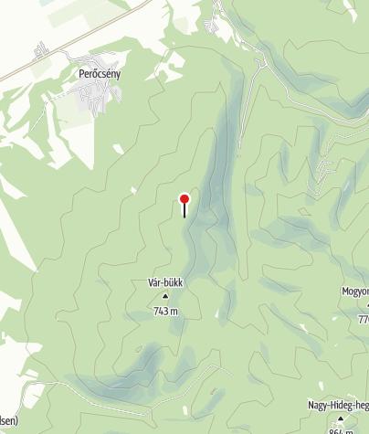 Map / Holló-kő, kilátóhely