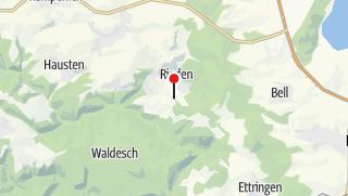 Kaart / Aussicht Rieden