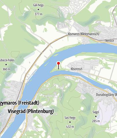 Map / Kemping (Kisoroszi)