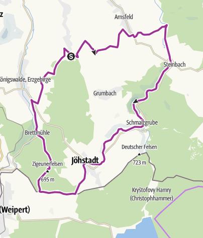 Map / Annaberger Landring (Südring)
