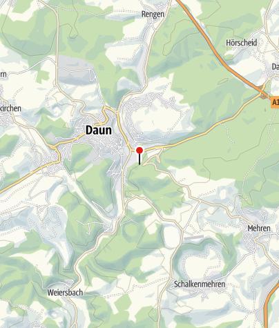 Karte / Blick auf Daun