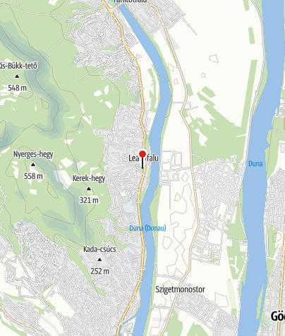 Mapa / Római kori őrtorony (Leányfalu)