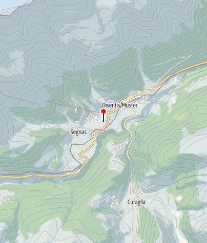 Karte / Schneesportschule Disentis
