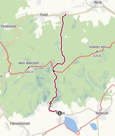 Mapa / Markaz – Parádfürdő