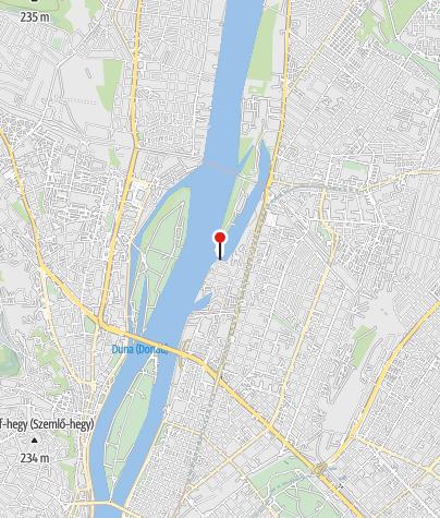 Mapa / Meder utcai BKV-kikötő (Budapest)